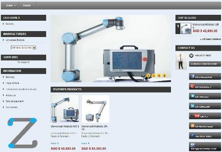 Zacobria Universal-Robots Webshop