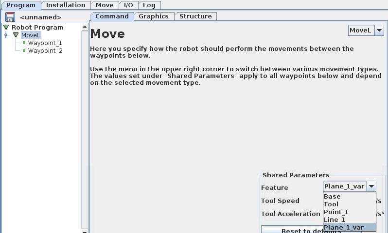 universal robots zacobria feature plane