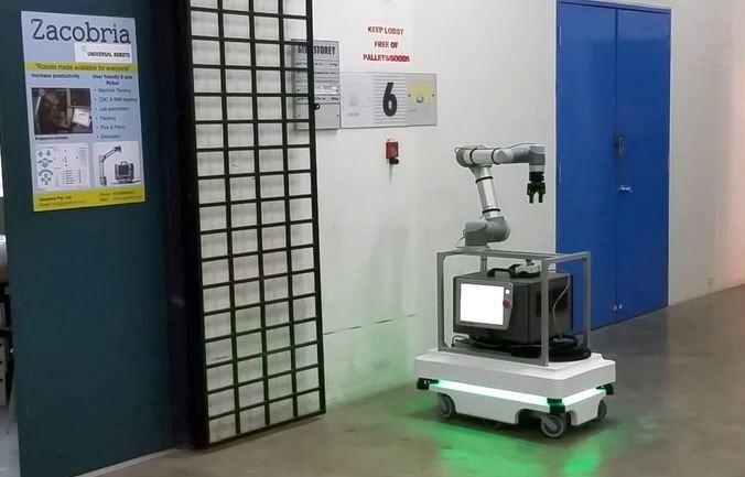 Collaborative-robots - Zacobria - Universal-robots - ur3 - ur5
