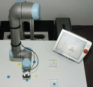 universal-robots zacobria vision camera guided find items