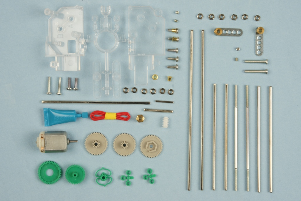 Universal-Robots Zacobria 3mm shaft set