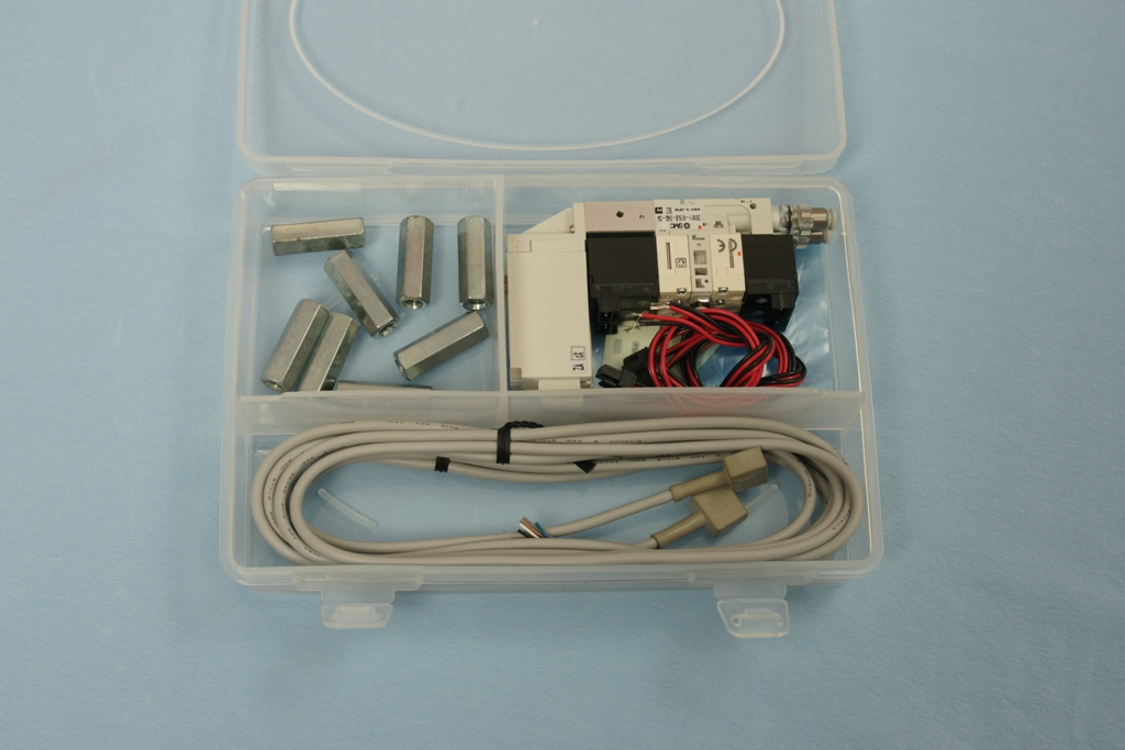Zacobria pneumatics 2 vacuum purge ejector 4mm tube kit box open