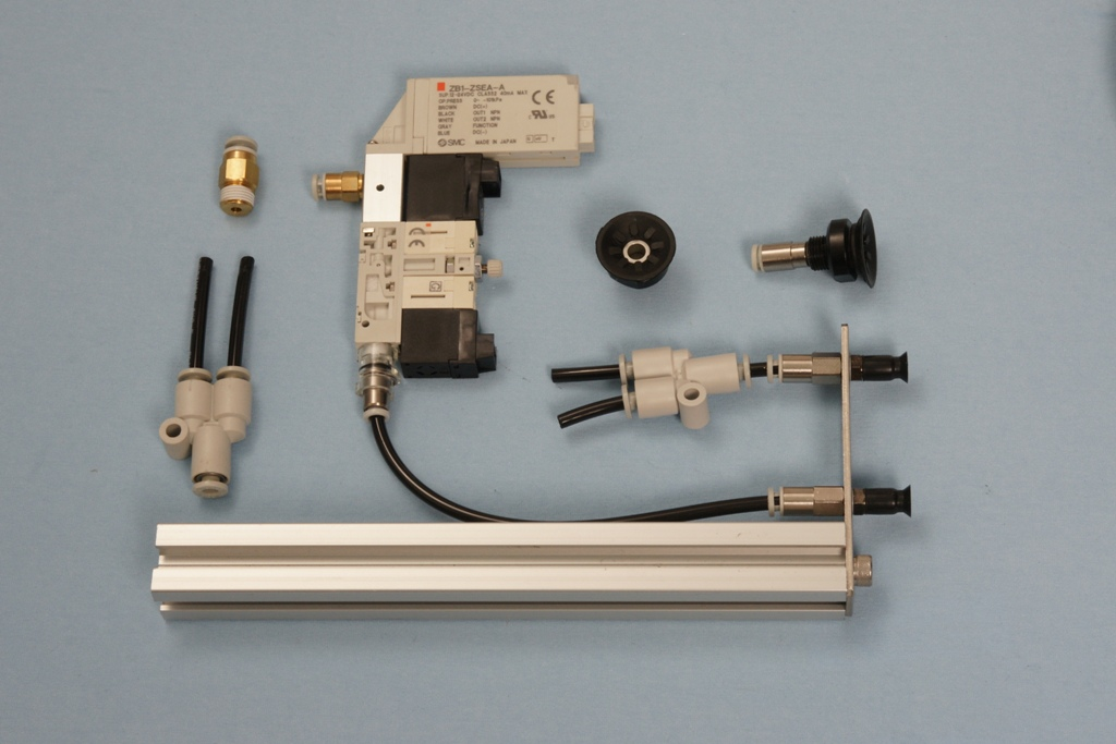 Universal-Robots Zacobria pneumatics m8 m20 4mm tube vacuum parts kit